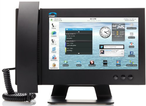 Best Voip Service >> First Look: CloudTC Glass 1000 Android VoIP Phone - VoIP Insider