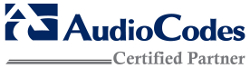 AudioCodes Certified Partner_250