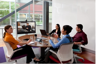 How does Cisco Callway Video Conferencing work?
