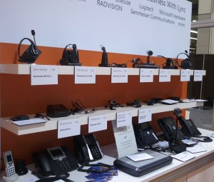 Lync Headsets at 2012 Microsoft Worldwide Partner Conference
