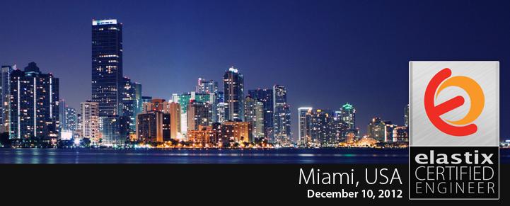 Elastix Certified Engineer Training Miami December 2012