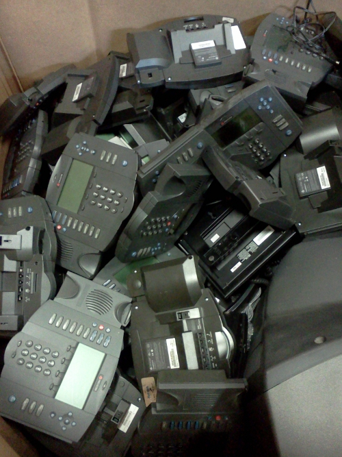 2013_E-Scrap for Camp_VoIP Phones