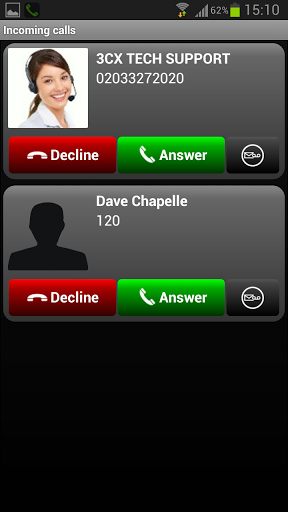 Look, even Dave Chappelle uses 3CXPhone.
