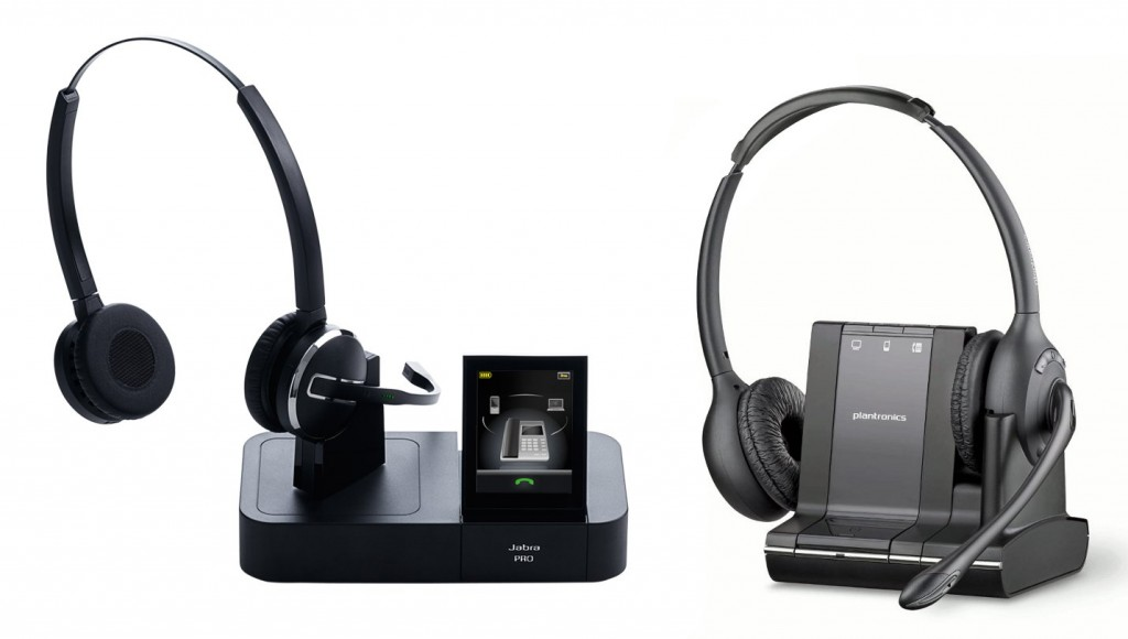 Jabra PRO 9465 and Plantronics Savi W720