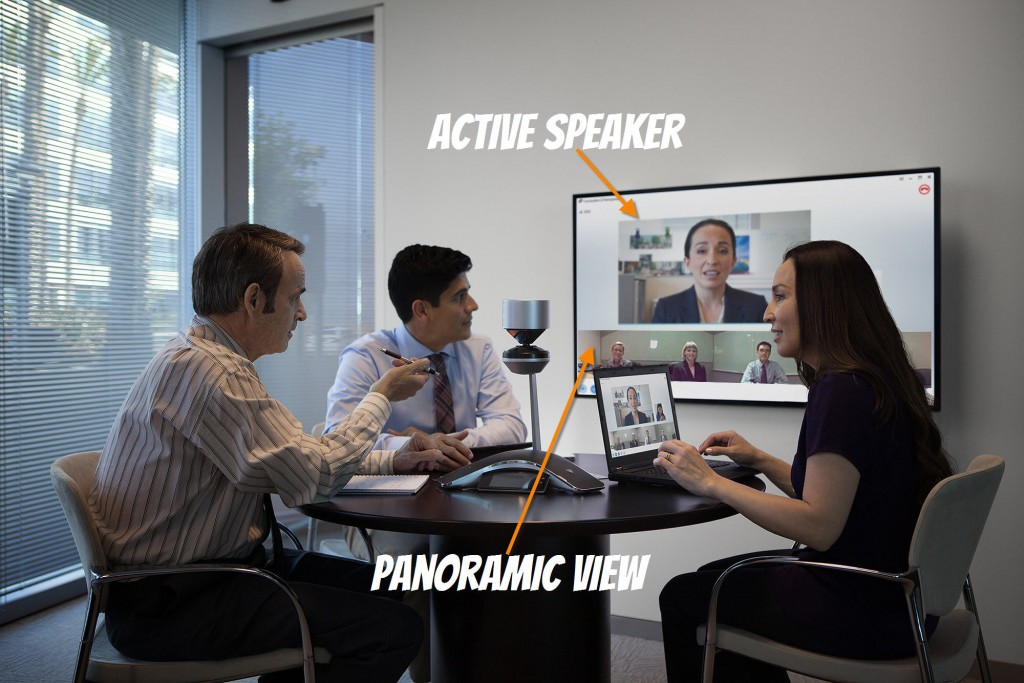 Panoramic Polycom Cx5100 Video Conferencing Station