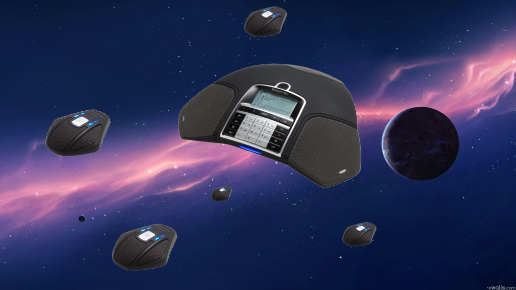 Badly Photoshopped VoIP Phones as Spaceships 4