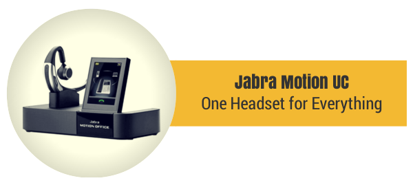 Jabra Motion UC Bluetooth Headset