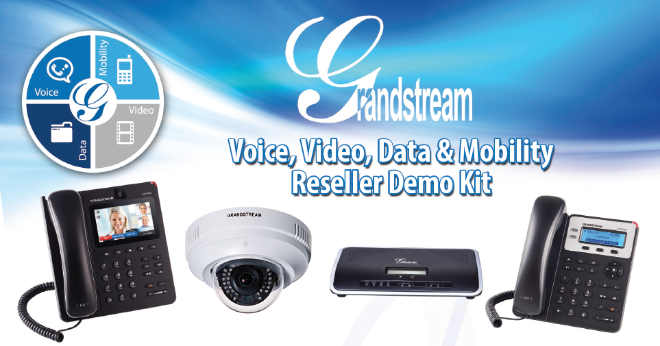 Grandstream VoIP IP Camera Demo Kit