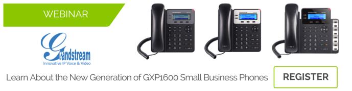 grandstream webinar gxp 1600