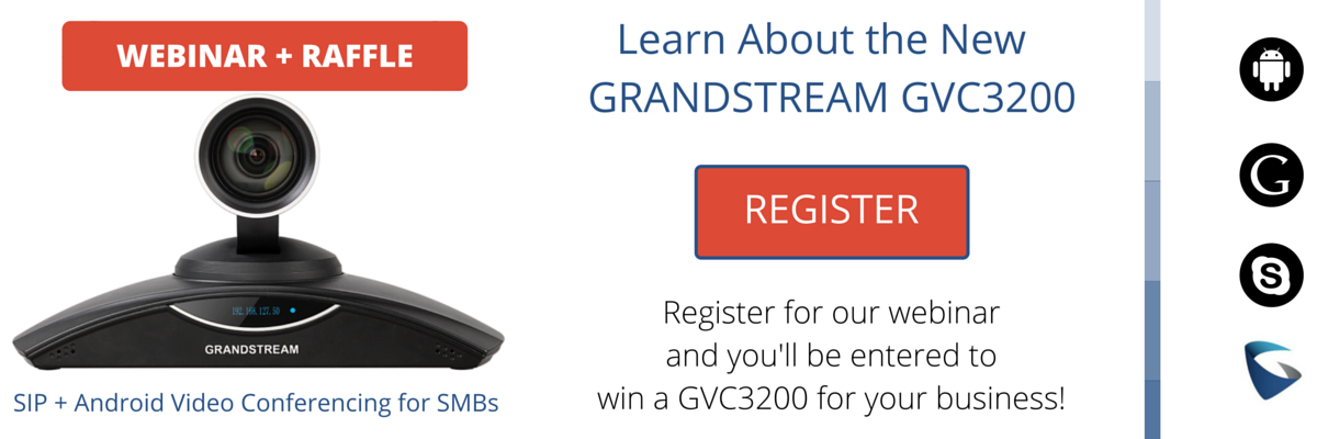 Win a Free Grandstream GVC3200 While Learning About SIP and Android
