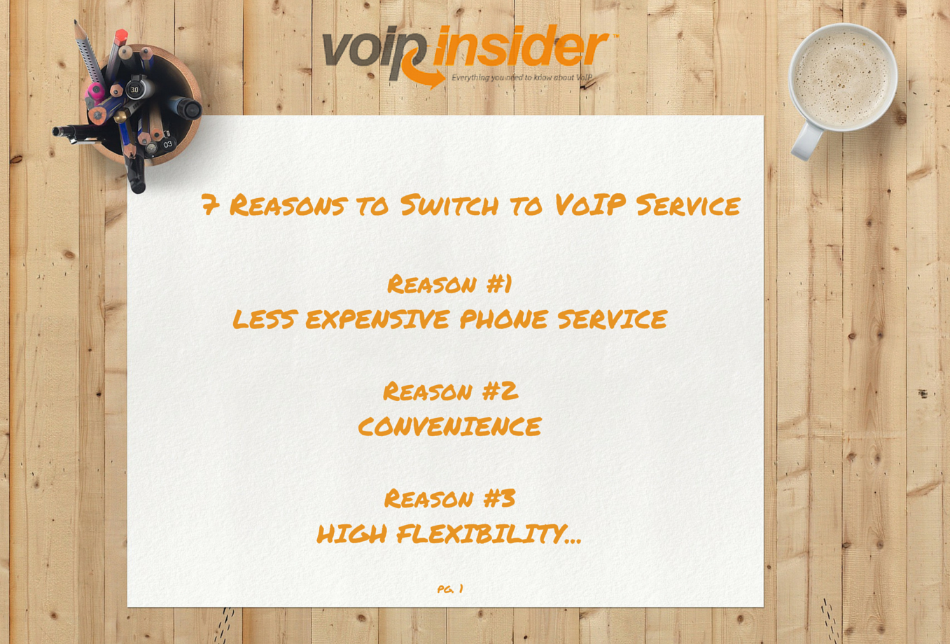7 Reasons to Switch to VoIP Service - VoIP Insider
