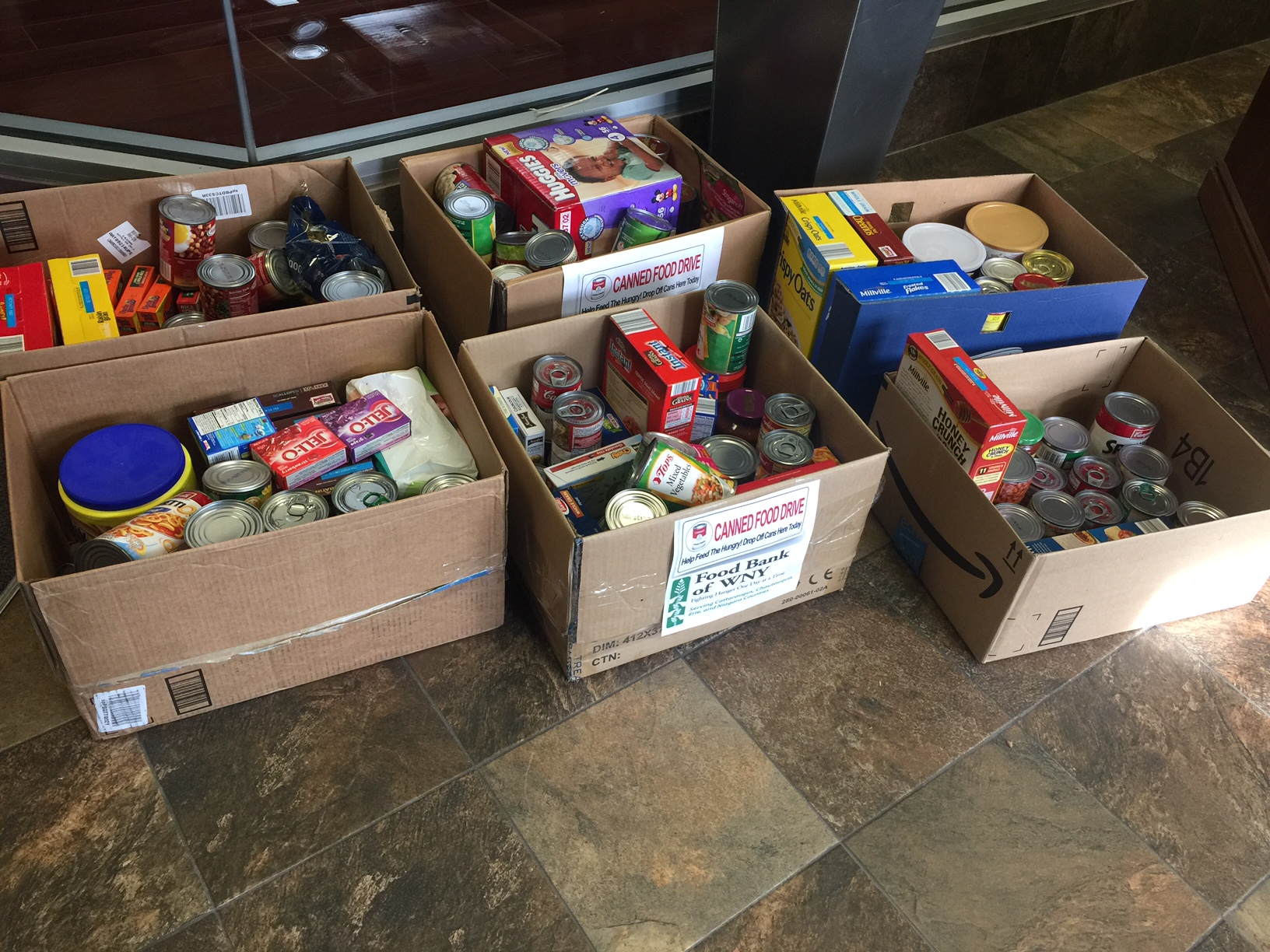 VoIP Supply donates to the Foodbank of WNY