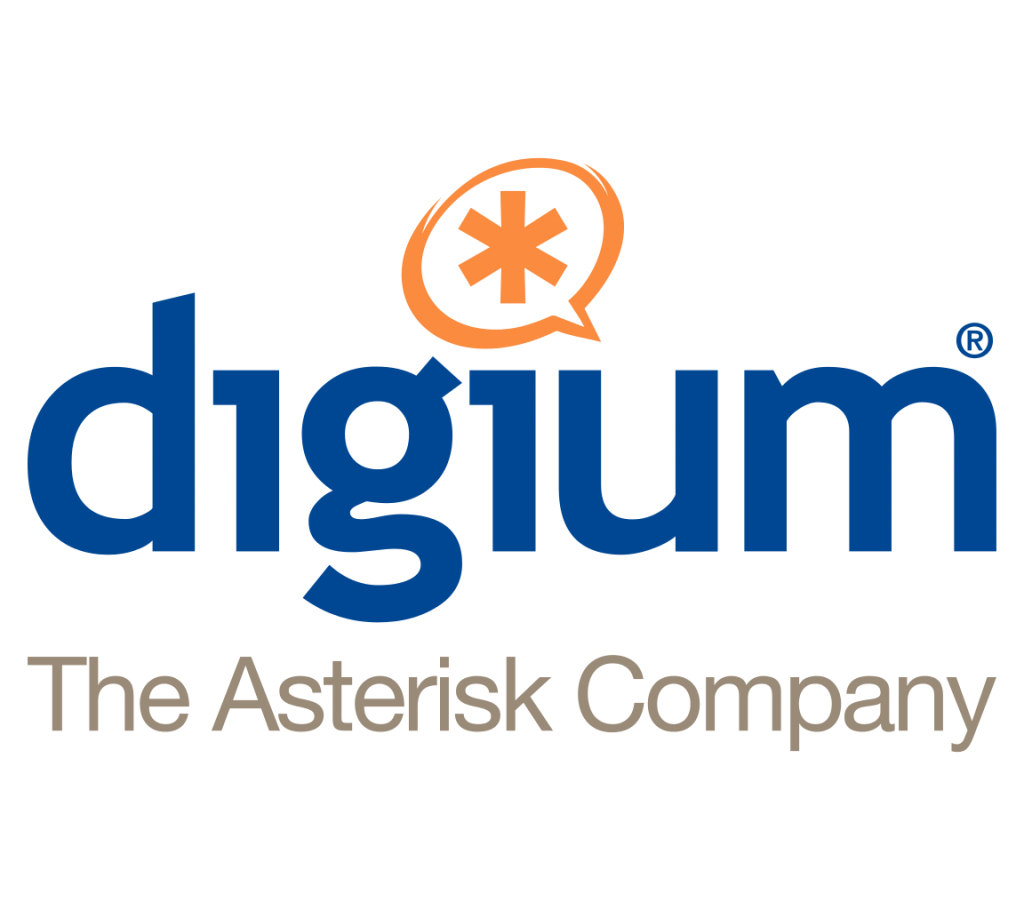 Digium The Asterisk Company Logo