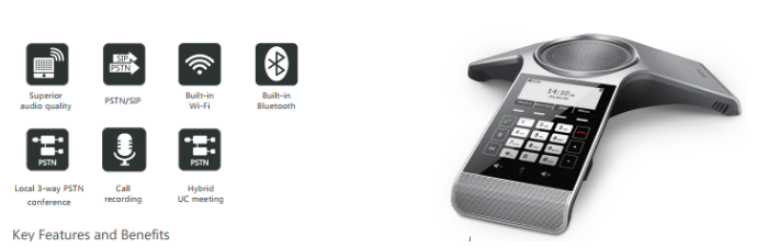 Yealink Launched the CP920 HD IP Conference Phone and the DECT IP
