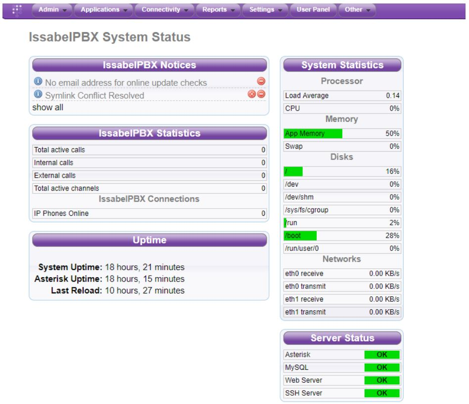The VoIP Addict's Guide - Issabel IP PBX Review: Everything to