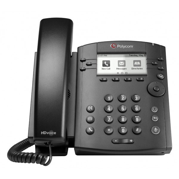 Polycom VVX 300 6 Line VoIP Phone - VoIP Supply