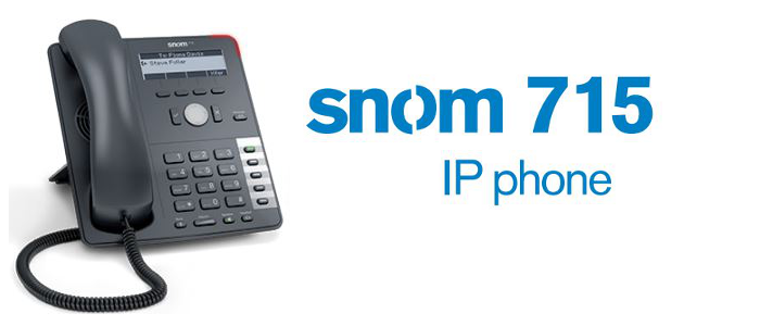 First Look Snom 715