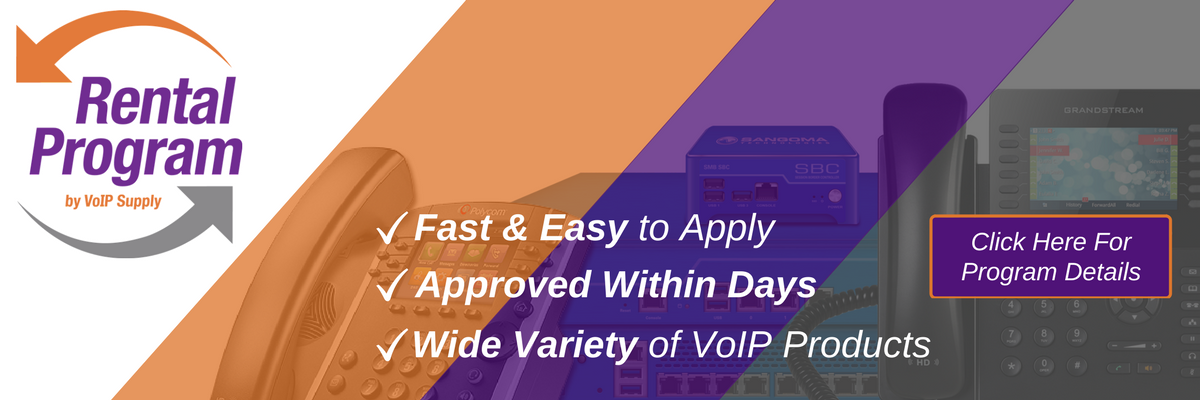 VoIP Supply Rental Program