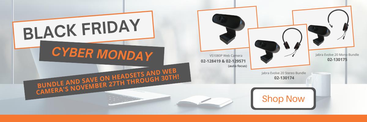 Black Friday & Cyber Monday Sale!