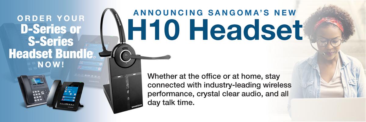 Sangoma H10 Monaural Headset
