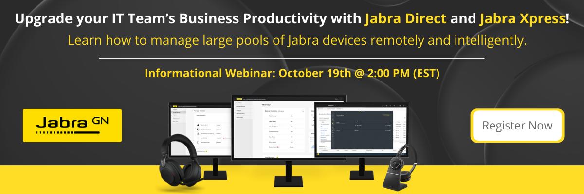 Jabra October Webinar