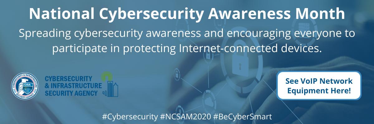 It's Cybersecurity awareness month!