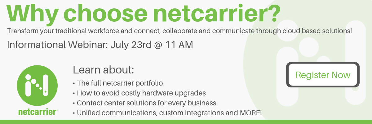 Why choose netcarrier