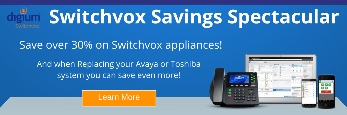 Switchvox Savings Spectacular Promotion