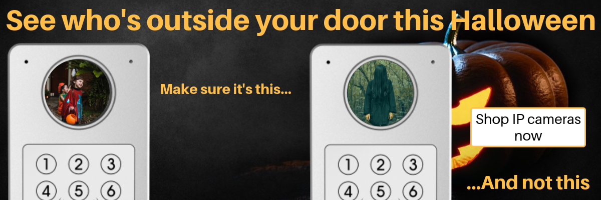 Who's outside your door this Halloween?