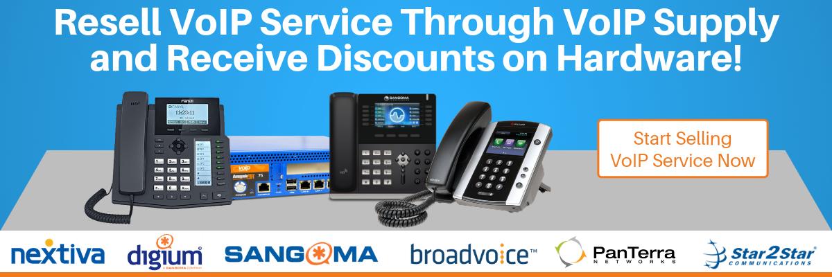 Reseller VoIP Service through VoIP Supply
