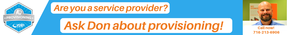 Ask Don about Provisioning
