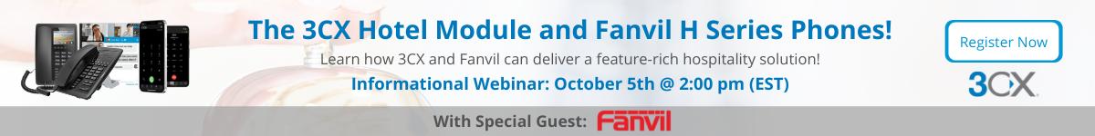 Fanvil $ 3CX Hospitality Solution Webinar