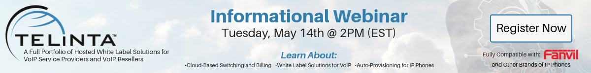 Telinta Webinar: A Full Portfolio of Hosted White Label Solutions for ITSPs & Resellers
