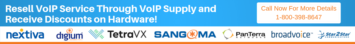 Resell VoIP service through VoIP Supply