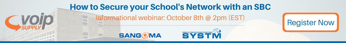 How to secure your school's network with an SBC