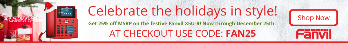 Fanvil X5U Red Promotion
