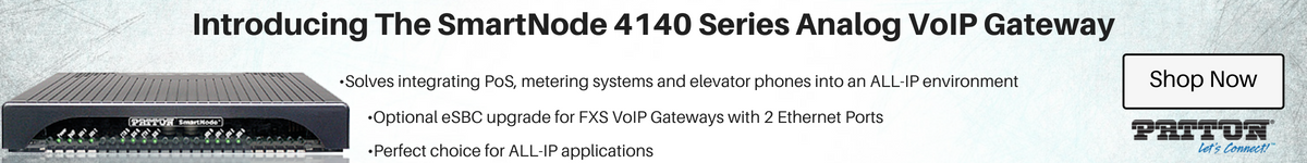 Patton SmartNode 4140 Series Analog Gateway