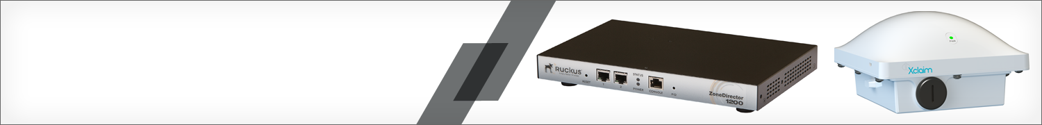 Smart Wi-Fi hardware, appliances and support by Ruckus Wireless