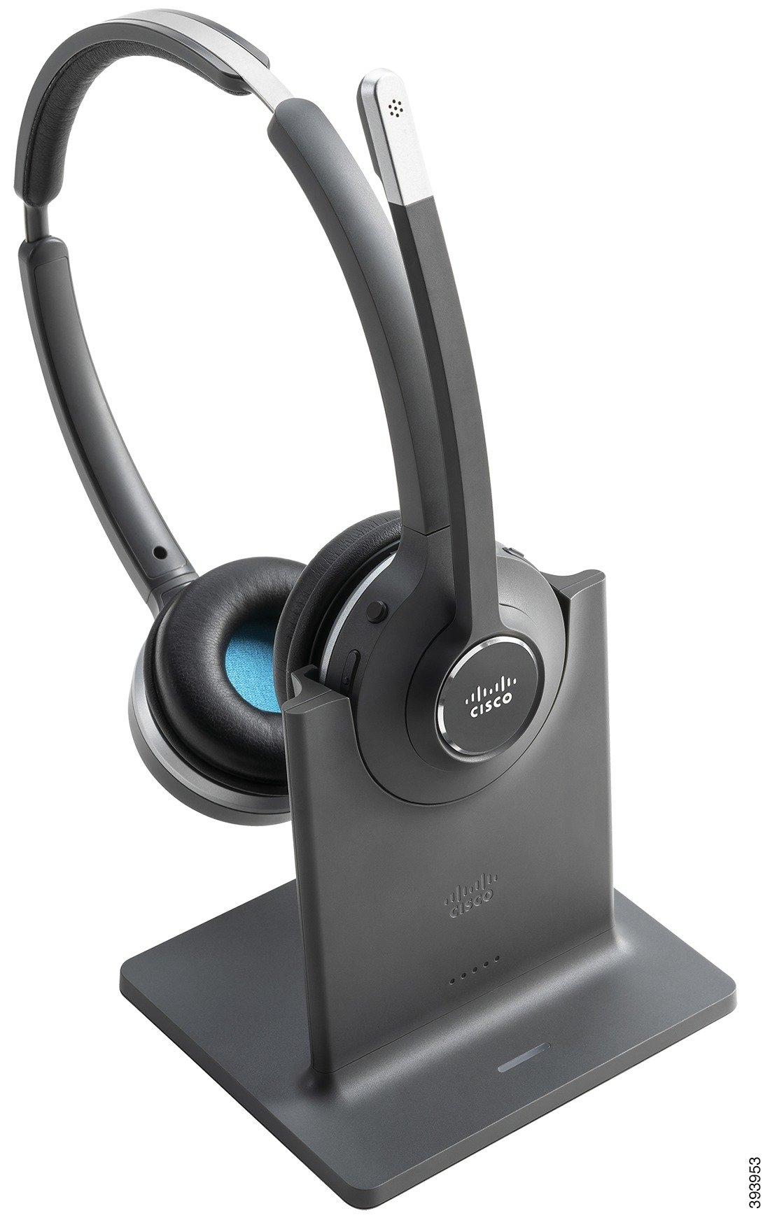 Cisco 562 Wireless Binaural Headset With Standard Base Cp Hs Wl 562 S Us Voip Supply
