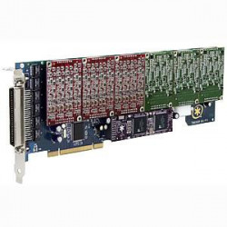 Digium TDM2460E 24 Port 24-FXS/0-FXO PCI Card with EC
