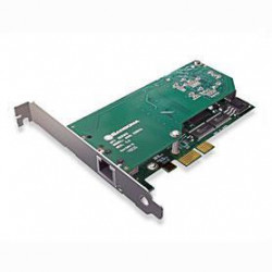 Sangoma A101DE Single T1/E1 PCIe Card with Echo Cancellation