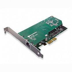 Sangoma A101DE Single T1/E1 PCIe Card with Echo Cancellation