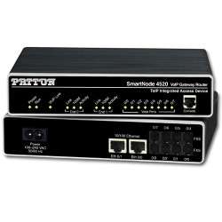 Patton SN4528 4-FXS 4-FXO Gateway Router SN4528/4JS4JO/EUI