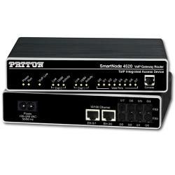 Patton SN4528 4-FXS 4-FXO Gateway Router SN4528/4JS4JO/EUI