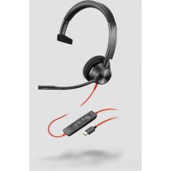 Poly Blackwire 3310 Microsoft USB-C Corded Headset