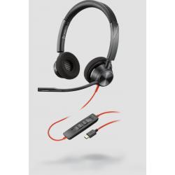 Poly Blackwire 3320 Microsoft USB-C Corded Headset