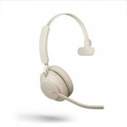 Jabra Evolve2 65 USB-C UC Mono Headset Beige 26599-889-898