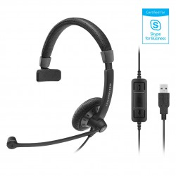 Sennheiser SC 40 USB MS Black Mono Headset (506498)