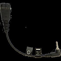Jabra 2.5mm to QD 8800-00-46