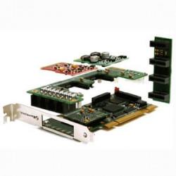 Sangoma A20106D  2 FXS / 12 FXO PCI Analog Card w/EC HW